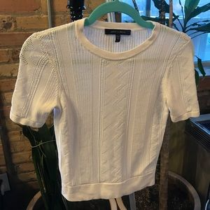 Tops - Judith and Charles off white knit top sz s